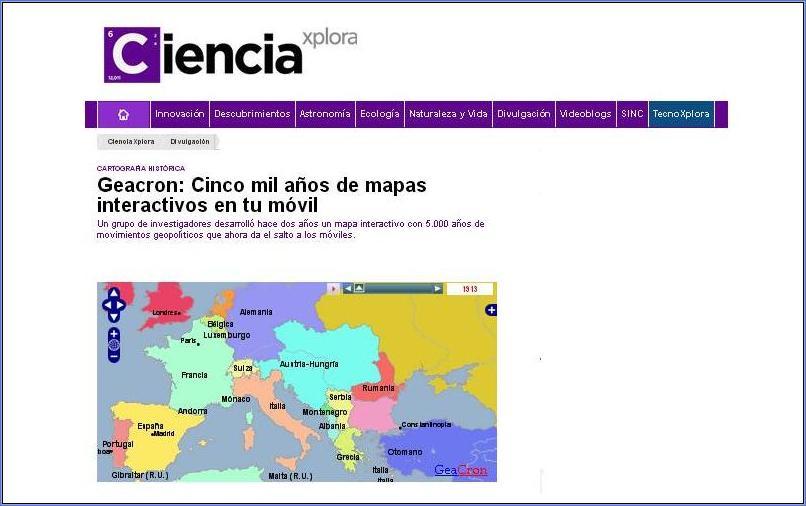 GeaCron in Antena3